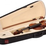 Musical Violin with Rosin, Bow & Case Violin