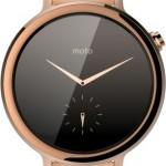 Motorola Moto 360 Smartwatch Key features