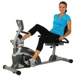 Recumbent Bike with Pulse Key Features