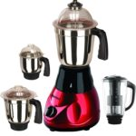 Sunmeet Majestic 4 Jar 1000 Watts Mixer Juicer Grinder – (Black,Red)