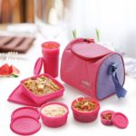 Cello Max Fresh Sling Lunch Box, 5 Containers