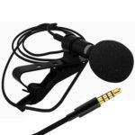 Sami Lavalier Lapel Microphone with Easy Clip On System | Perfect for Recording Youtube Vlog Interview/Podcast | Best Lapel