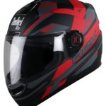 Steelbird SBA-1 R2K Full Face Helmet with Smoke Visor