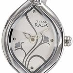 Titan Raga Gold/Silver Metal Jewellery Design Analog Wrist Watch