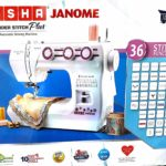 Usha Janome Wonder Stitch Plus Automatic Sewing Machine