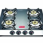 Prestige 40279 Marvel Plus Stainless Steel 4 Burner Gas Stove