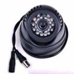 Secure-U Generic CCTV Dome 24 Hour Day/Night Vision Inbuilt DVR/ Memory Slot With Tv Video Output