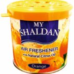 My Shaldan Orange Car Air Freshener