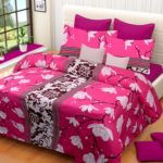 Home Elite 104 TC Cotton Double Bedsheet