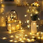Climberty Plastic Star Clip Photo Pictures String Lights