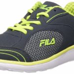 Fila Women's Blue Rubber Running Shoes