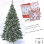 Decorative Buckets: CHRISTMAS TREE 5 FEET