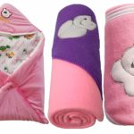My Newborn Baby Fleece Hooded Blanket