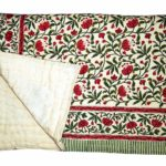 Traditinal Jaipuri Printed 100% Cotton Double Bed Quilts/Razai