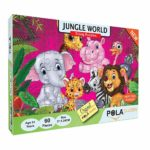 Pola Puzzles Jungle World 60 Pieces Tiling Puzzles