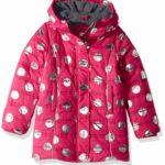 Hatley Girls' Fleece Lined Puffer Coats