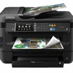 epson Wireless Color All-in-One Inkjet Printer Workforce WF-7610