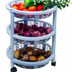 Princeware Maria 3 Rack Big Trolley