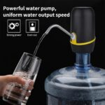 Wireless Water Bottle Automatic Dispenser for 20 Litre Bottle with Portable USB Charging with USB Cable