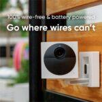 Wyze Cam Outdoor Bundle I Indoor/Outdoor Wire-Free Smart Home Camera
